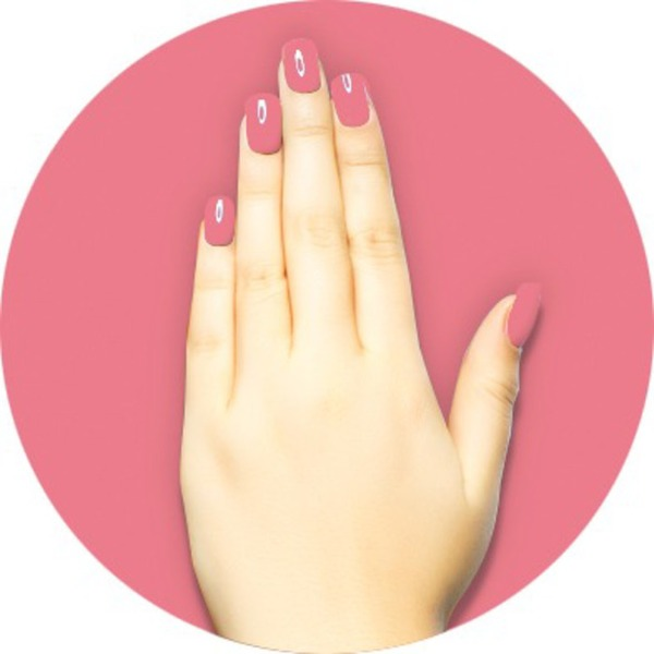 iGel Matched Set: 1 iGel Impecable Soaked-off Gel Polish 0.5 oz. + 1 iLacquer Matching Nail Lacquer Color 0.5 oz. - PINK RIBBON - # 96 (igel-96)