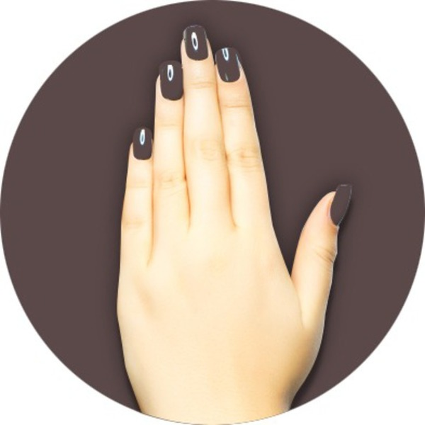 iGel Matched Set: 1 iGel Impecable Soaked-off Gel Polish 0.5 oz. + 1 iLacquer Matching Nail Lacquer Color 0.5 oz. - ESPRESSO FRAPPUCCIO - # 144 (igel-144)