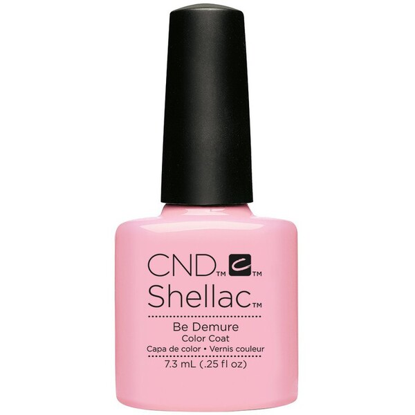 CND SHELLAC UV Color Coat - Summer 2016 Flirtation Collection - Be Demure 0.25 oz. - The 14 Day Manicure is Here! ()
