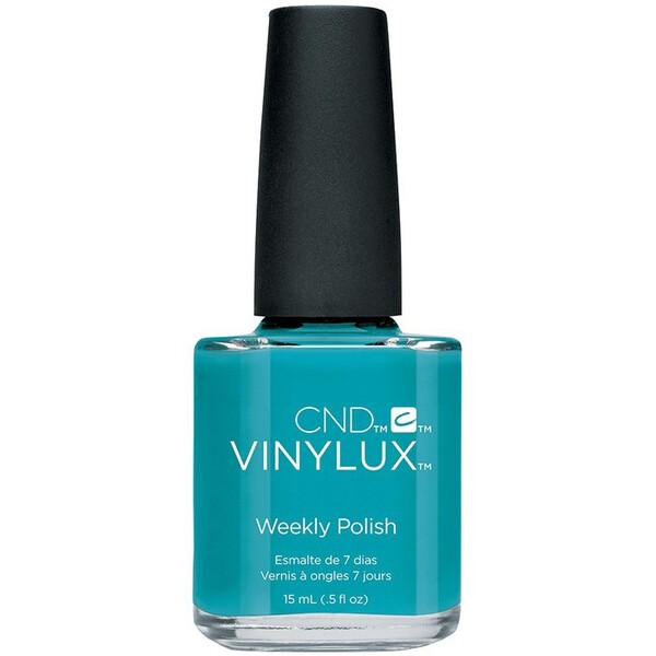 CND Vinylux Polish - Summer 2016 Flirtation Collection - Aqua-intance 0.5 oz. - 7 Day Air Dry Nail Polish ()