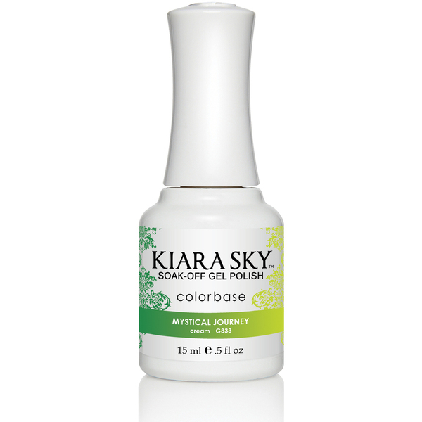 Kiara Sky - Ombre Color Changing Gel Polish - Mystical Journey 0.5 oz. (G833)