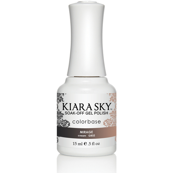 Kiara Sky - Ombre Color Changing Gel Polish - Mirage 0.5 oz. (G832)