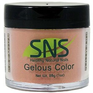 SNS GELous Color Dipping Powder - BAREFOOT WITH PASSION #05 1 oz. (SNS#05)
