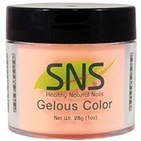 SNS GELous Color Dipping Powder - VOILA BUTTER PECAN #09 1 oz. (SNS#09)