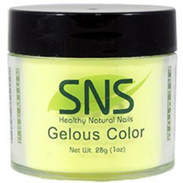 SNS GELous Color Dipping Powder - CHEESECAKE LACQUERY #62 1 oz. (SNS#62)