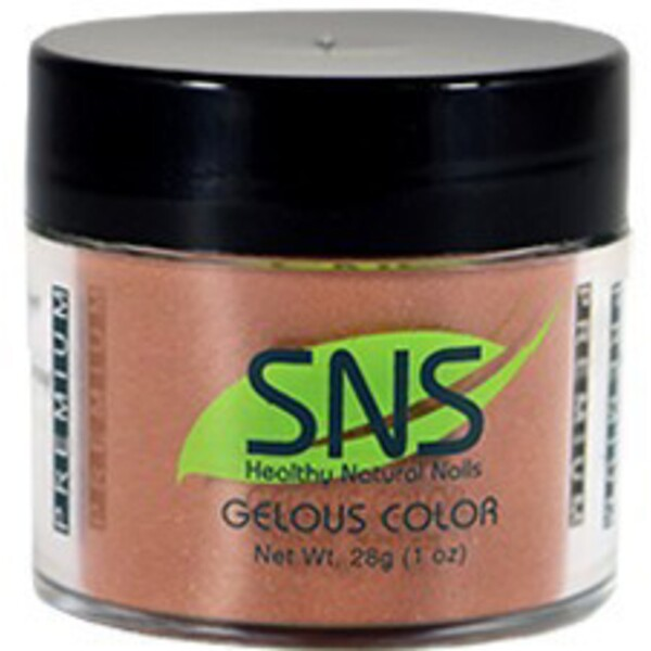 SNS GELous Color Dipping Powder - FABULOUS COCOA MAUVE #105 1 oz. (SNS#105)