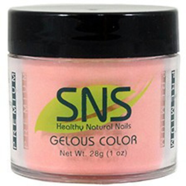 SNS GELous Color Dipping Powder - GENTLE CARNATION #142 1 oz. (SNS#142)