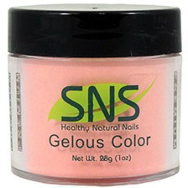 SNS GELous Color Dipping Powder - INNOCENT CORAL #144 1 oz. (SNS#144)
