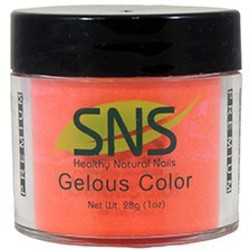 SNS GELous Color Dipping Powder - PRINCE OF ORANGE #153 1 oz. (SNS#153)