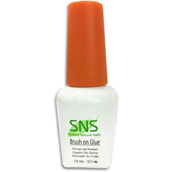 SNS Brush on Glue Pre-Bonded 0.5 oz. ()