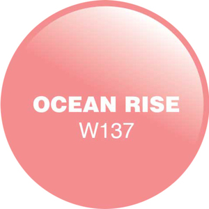 WaveGel Matching Soak Off Gel Polish & Nail Lacquer - Ocean Rise 0.5 oz. Each (WG137)