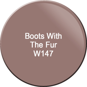 WaveGel Matching Soak Off Gel Polish & Nail Lacquer - Boots With The Fur 0.5 oz. Each (WG147)