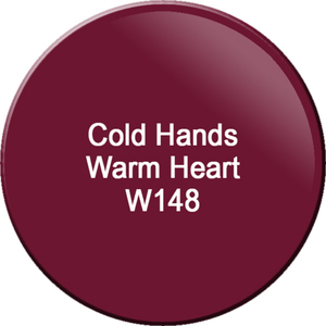 WaveGel Matching Soak Off Gel Polish & Nail Lacquer - Cold Hands Warm Heart 0.5 oz. Each (WG148)