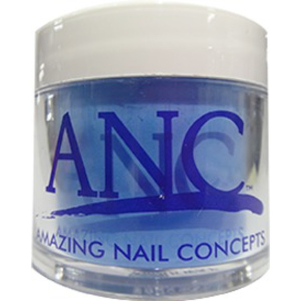 ANC Dip Powder - NEON BLUE #155 1 oz. - part of the ANC Acrylic Nails Dipping System (ANC#155)