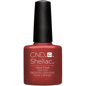 CND SHELLAC UV Color Coat - Fall 2016 Craft Culture Collection - Hand Fired 0.25 oz. - The 14 Day Manicure is Here! ()