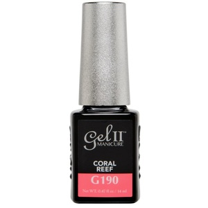 La Palm Gel II - Neon Coral Reef - Beach Boardwalk Collection No Base Coat Gel Polish - 2 Step System (G190)
