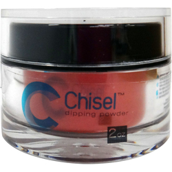 Chisel Dipping Powder - #595 Shimmer Lava Red 2 oz. (cna2595)