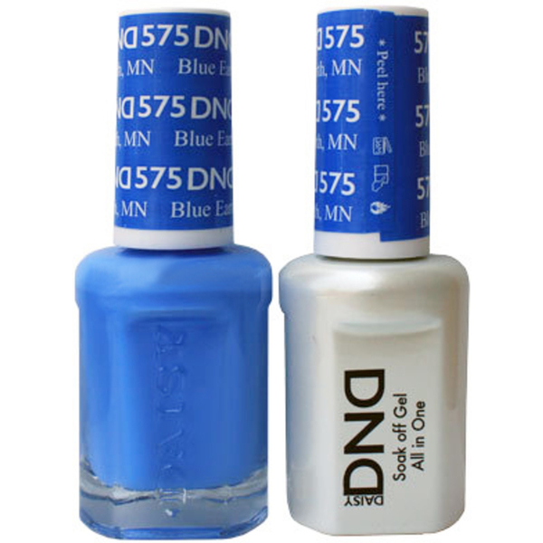 DND Duo GEL Pack - GLUE EARTH MN 1 Gel Polish 0.47 oz. + 1 Lacquer 0.47 oz. in Matching Color (DND-G575)