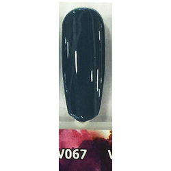 Veniiz Duo - Soak-Off Gel Polish + Matching Lacquer - INSPIRED - V067 0.5 oz. Each (V067)