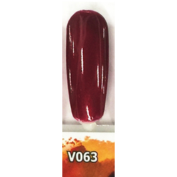 Veniiz Duo - Soak-Off Gel Polish + Matching Lacquer - JOLIE - V063 0.5 oz. Each (V063)