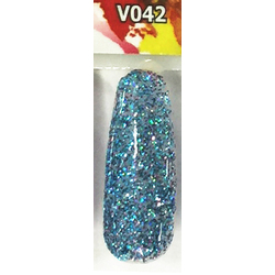 Veniiz Duo - Soak-Off Gel Polish + Matching Lacquer - BIPOLAR - V042 0.5 oz. Each (V042)