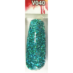 Veniiz Duo - Soak-Off Gel Polish + Matching Lacquer - LUSTRE - V040 0.5 oz. Each (V040)