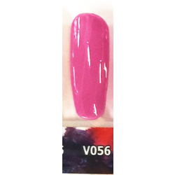 Veniiz Duo - Soak-Off Gel Polish + Matching Lacquer - CLIQUE - V056 0.5 oz. Each (V056)