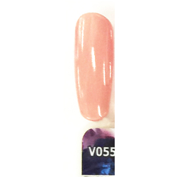 Veniiz Duo - Soak-Off Gel Polish + Matching Lacquer - CAMEO - V055 0.5 oz. Each (V055)