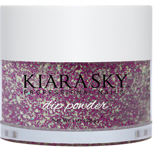 Kiara Sky Dip Powder - PURPLE SPARK - D430 1 oz. (D430)