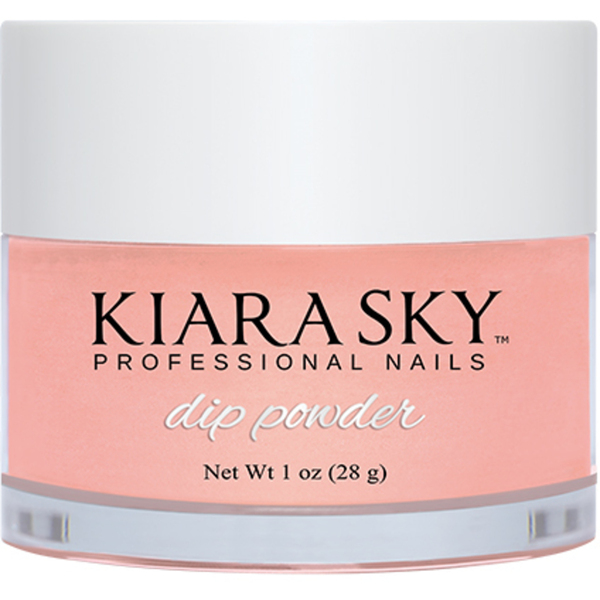 Kiara Sky Dip Powder - ROMANTIC CORAL - D490 1 oz. (D490)
