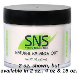 SNS Natural Balance Out Dipping Powder - Pre-Bonded 2 oz. ()