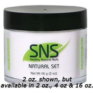 SNS Natural Set Dipping Powder - Pre-Bonded 2 oz. ()