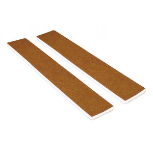 "Washable Jumbo Brown Cushioned Nail Files - 7""L x 1-18""W - Grit 80100 - 50 Pack ()"