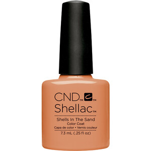 CND Shellac - Summer 2017 Rhythm & Heat Collection - Shells In The Sand 0.25 oz. - The 14 Day Manicure is Here! (768800)