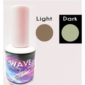 WaveGel Glow in the Dark Soak Off Gel Polish - GLOW 1 0.5 oz. ()