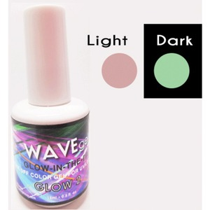 WaveGel Glow in the Dark Soak Off Gel Polish - GLOW 2 0.5 oz. ()
