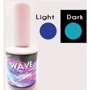 WaveGel Glow in the Dark Soak Off Gel Polish - GLOW 6 0.5 oz. ()