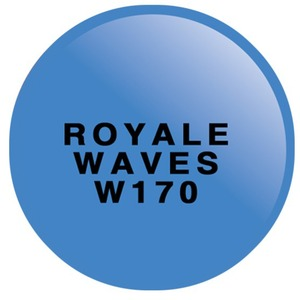 WaveGel Matching Soak Off Gel Polish & Nail Lacquer - ROYALE WAVES 0.5 oz. Each (W170)