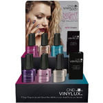 CND Vinylux - Fall 2017 NightSpell Collection - 14 Piece POP Display - 7 Day Air Dry Nail Polish (767160)