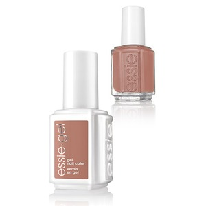 Essie Gel & Essie Lacquer Duo - Wild Nudes Collection - CLOTHING OPTIONAL - 1 Gel Nail Color + 1 Enamel Nail Color (#1129G - #1129)