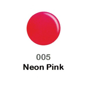 DND Duo Gel Pack - DC Collection - NEON PINK - #005 1 Gel Polish 0.47 oz. + 1 Lacquer 0.47 oz. in Matching Color (DND-DC-005)
