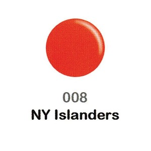 DND Duo Gel Pack - DC Collection - NY ISLANDERS - #008 1 Gel Polish 0.47 oz. + 1 Lacquer 0.47 oz. in Matching Color (DND-DC-008)