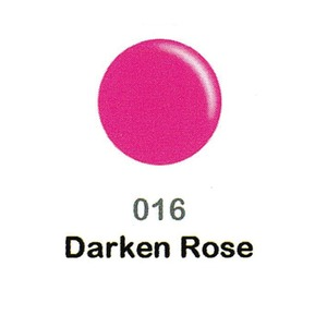 DND Duo Gel Pack - DC Collection - DARKEN ROSE - #016 1 Gel Polish 0.47 oz. + 1 Lacquer 0.47 oz. in Matching Color (DND-DC-016)