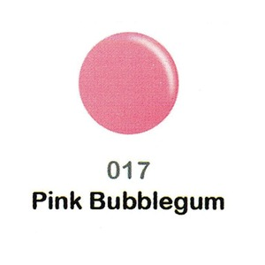 DND Duo Gel Pack - DC Collection - PINK BUBBLEGUM - #017 1 Gel Polish 0.47 oz. + 1 Lacquer 0.47 oz. in Matching Color (DND-DC-017)