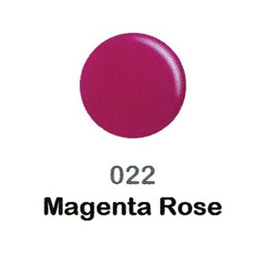 DND Duo Gel Pack - DC Collection - MAGENTA ROSE - #022 1 Gel Polish 0.47 oz. + 1 Lacquer 0.47 oz. in Matching Color (DND-DC-022)