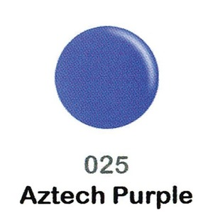 DND Duo Gel Pack - DC Collection - AZTECH PURPLE - #025 1 Gel Polish 0.47 oz. + 1 Lacquer 0.47 oz. in Matching Color (DND-DC-025)