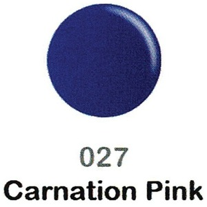 DND Duo Gel Pack - DC Collection - CARNATION PINK - #027 1 Gel Polish 0.47 oz. + 1 Lacquer 0.47 oz. in Matching Color (DND-DC-027)