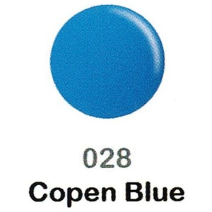 DND Duo Gel Pack - DC Collection - COPEN BLUE - #028 1 Gel Polish 0.47 oz. + 1 Lacquer 0.47 oz. in Matching Color (DND-DC-028)