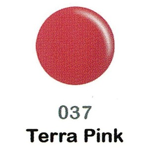 DND Duo Gel Pack - DC Collection - TERRA PINK - #037 1 Gel Polish 0.47 oz. + 1 Lacquer 0.47 oz. in Matching Color (DND-DC-037)