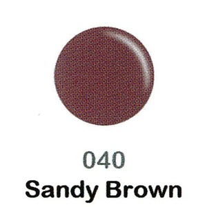 DND Duo Gel Pack - DC Collection - SANDY BROWN - #040 1 Gel Polish 0.47 oz. + 1 Lacquer 0.47 oz. in Matching Color (DND-DC-040)